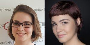 Friseur Herford Nina Vorher Nachher Vergleich